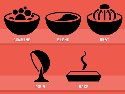 Baking Icons icons baking