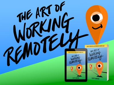 The Art of Working Remotely location remote work book cover