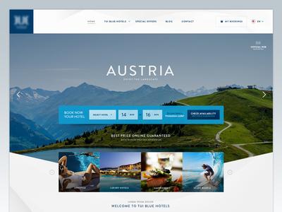Homepage hotel chain