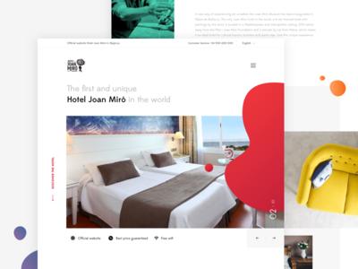 Homepage Miró