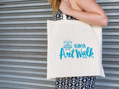 SONYA Art Walk Tote bag