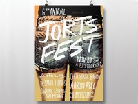 Jorts Fest Poster