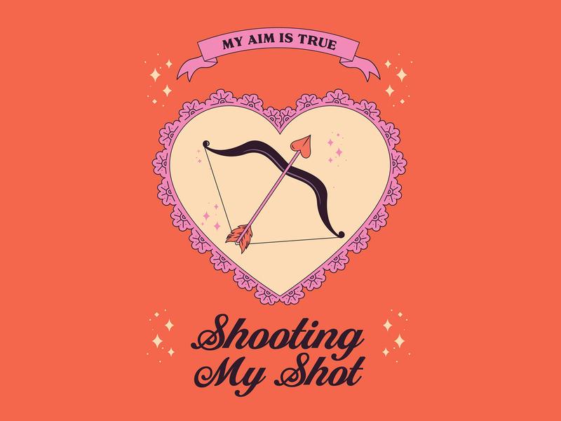 Shoot Your Shot Valentine