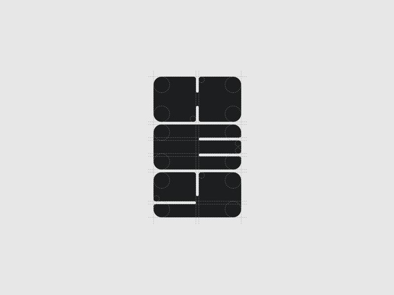 HEY Branding wordmark logo design logomark iconmark logotype branding design grid minimal restaurant burger brand identity mark logo typeface font branding