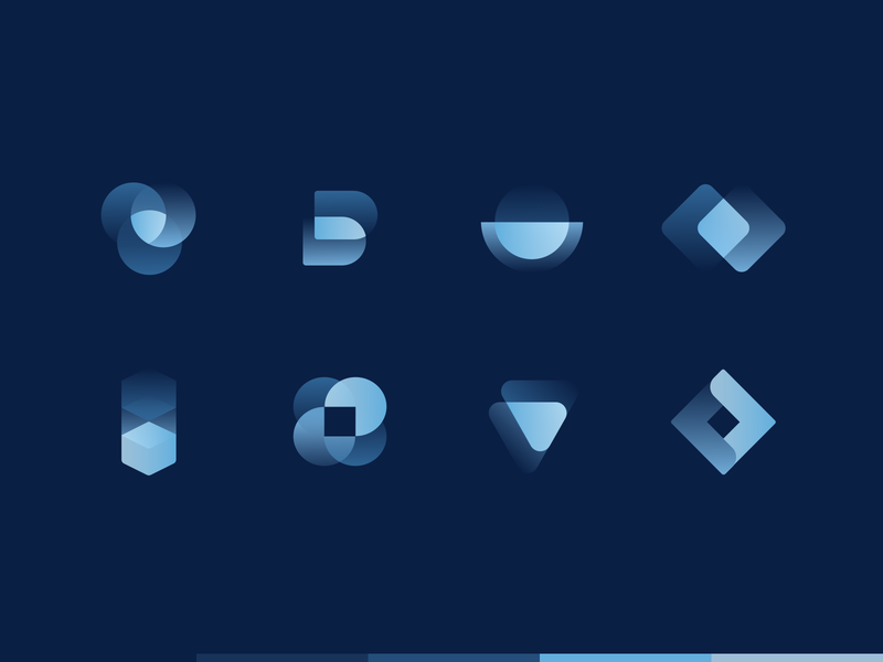 Crypto Startup Icons crypto currency crypto exchange cryptocurrency crypto website crypto wallet minimal geometric glyph mark gradient icons design crypto branding futuristic abstract branding crypto startup iconography iconset icons
