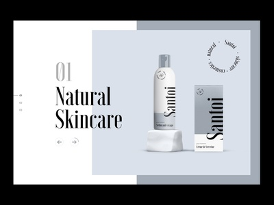 Cosmetics Brand Website Exploration