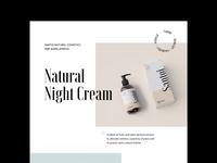 Cosmetics Homepage Exploration