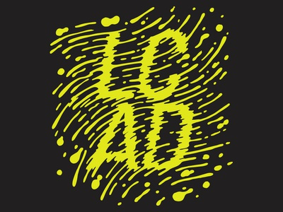 LCAD shirt  illustration design graphic design lettering type typography apparel lcad