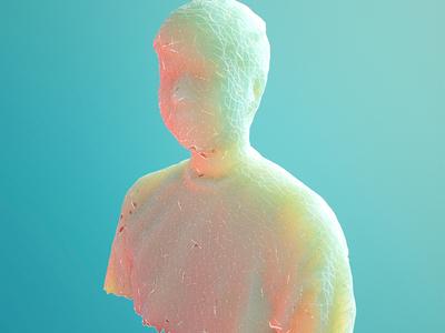 Daily Render: 3D Scan Selfie