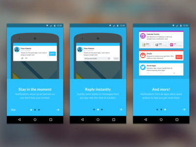 In Stealth Android Messaging App