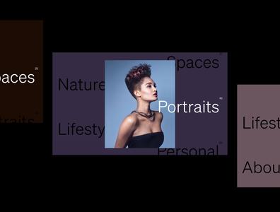 Petra Mingneau Website branding brand and identity typography photo website design ux ui website photogrpaher photography