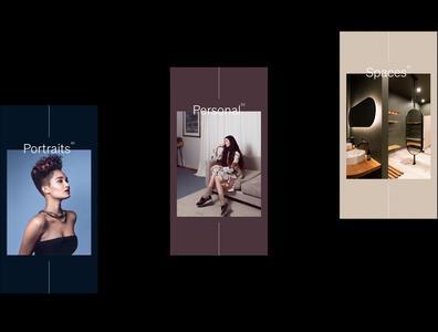 Petra Mingneau Website web website website design ux ui typography design branding brand and identity