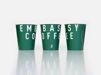 Embassy Coffee Cups
