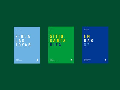 Embassy Coffee Tasting Notes vector print design green type brand and identity typography branding