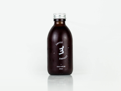 Embassy Coffee Cold Brew packaging design packaging cold brew logo coffee branding design brand and identity typography
