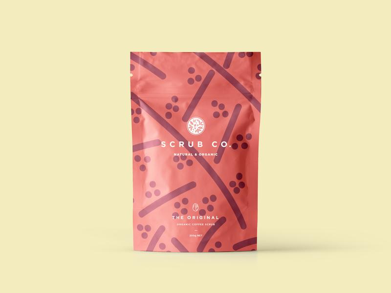 Scrub Co Packaging – Original illustration design coffee branding brand and identity pattern packaging design packaging