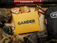Gander Outdoors Logo Concept