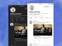 User Feed iOS Concept
