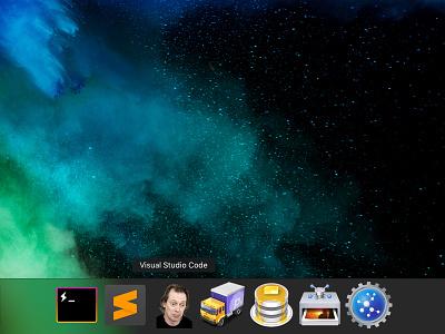 VS Code Icon Swap steve funny icon os mac vs code