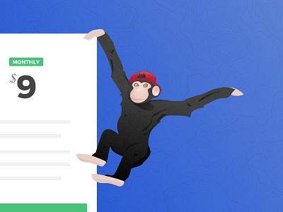 Monkeying around fun side projects illustration monkey
