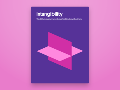 Intangibility Poster