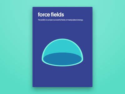 Force Fields Poster