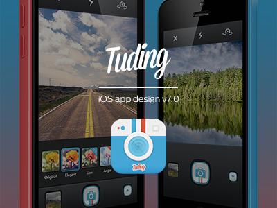 TUDING iOS App Design