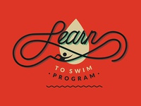 Learn to Swim Logo