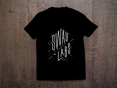 Sway Creative Labs Shirt Concept illustration branding hand drawn type hand lettering typography apparel shirt