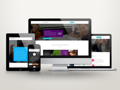 Lanterna Online education online web website responsive clean