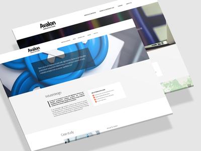 Avalon web website design design company tech companie avalon innovation