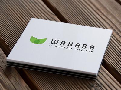 Wakaba e-commerce invest AB logo logotype investment banking investment e-commerce