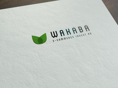Wakaba e-commerce Invest logo logotype investment banking investment e-commerce