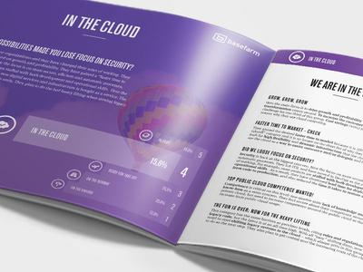Next step Cloud Report 2017 brochure print cloud report report cloud