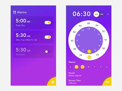 Alarm time management time clock app alarm clock alarm app alarms