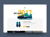 Nike Air Max Redesign