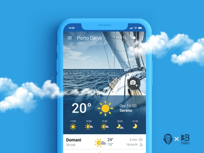 3B meteo icon set