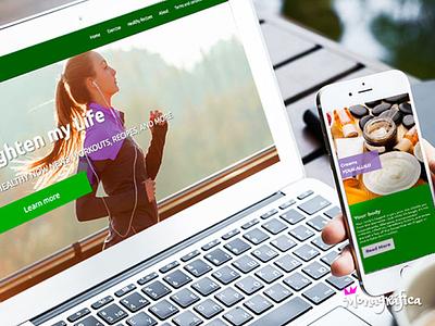UI Responsive web design branding ux design web ui