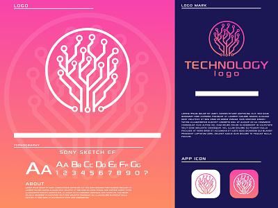 Technology logo tech logo vector branding modern logo home logo minimal logo minimalist logo creative logo logo and branding app logo design icon business logo technology logo