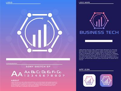 business tech technology business tech logo design logo creative logo logo design logo and branding icon business logo app modern logo