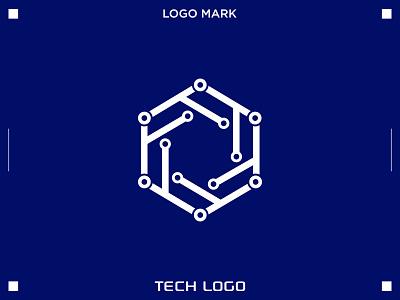 TECH LOGO technology logo tech logo logo and branding design logo icon logo design business logo modern logo creative logo