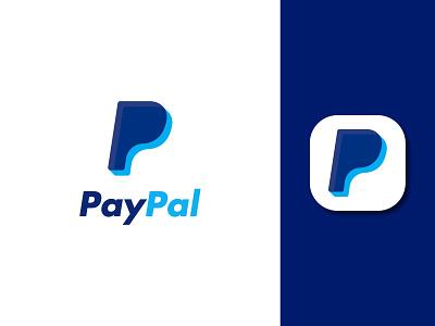"Modern ""PayPal"" logo brand identity branding logo and branding letter mark letter logo p modern logo p logo paypal logo paypal creative logo logo design design logo minimalist logo minimal logo flat logo modern logo"