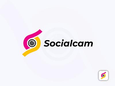 "social camera logo | ""S"" letter logo branding brand identity abstract logo symbol app icon photo logo social logo camera logo s logo letter logo logo design logo design creative logo minimal logo flat logo modern logo"