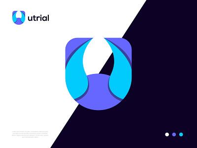 Modern U logo | letter lgoo branding brand identity colorfull typography saftware app icon soft u logo symbol letter logo design logo logo design creative logo modern logo minimal logo flat logo