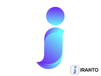 MODERN 'I' LOGO DESIGN i logotype i lettermark minimal i logo i icon i logo modern i logo logo brand identity creative logo flat logo logo design minimal logo design minimalist logo modern logo
