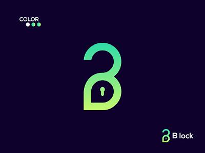 B lock modern logo minimal logo minimalist logo flat logo logo design design creative logo logo abstract logo logo mark app logo letter b lock logo modenr letter logo branding logo and brand identity best logo designer