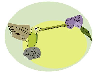 Hummingbird modern design modern one line drawing small bird violet blossom birdie perfume scent nectar flower beak hummingbird logo hummingbirds humming bird hummingbird bird colibri modern art one line art