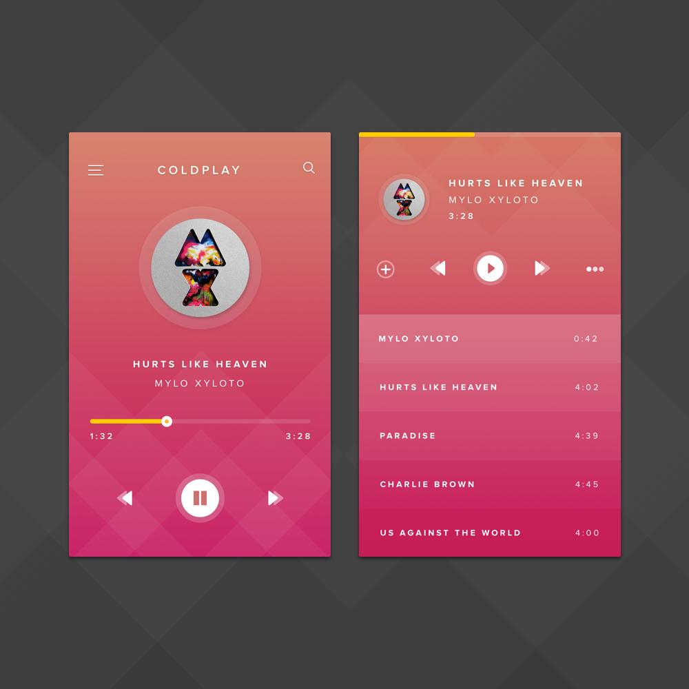 Music app 2x