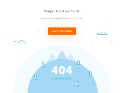 404 no hotel found state empty website page blank 404 hotel