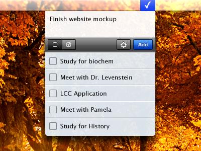 Menubar to-do mac to-do menubar